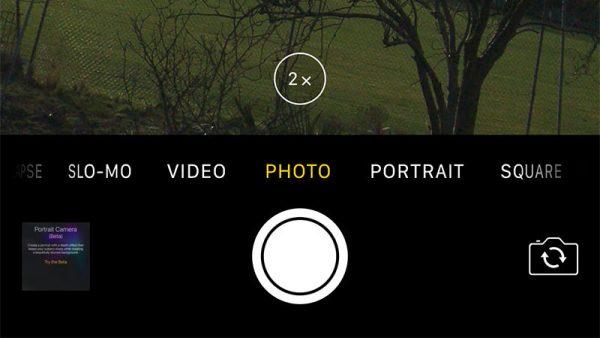 عکس گرفتن با دوربین دوگانه