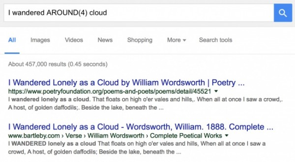 جستجوی دقیقتر در گوگل