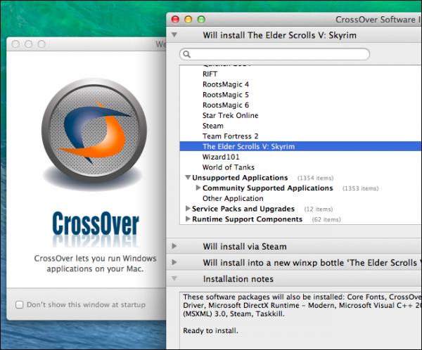 اجرای نرمافزارهای ویندوز بر روی مک