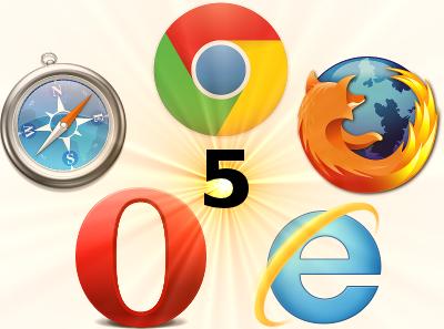بررسی ۵ مرورگر وب دنیا؟ کدام یک برترند؟ FireFox 5.0 ،IE 9 ،Opera 11 ،Chrome 12 و Safari 5 + جایزه