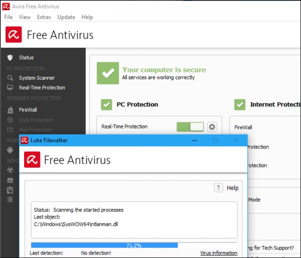 حذف ویروس و بد افزار از کامپیوتر