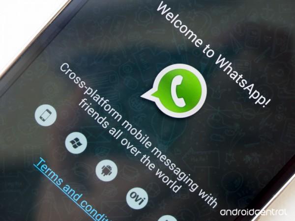 تماس صوتی در whatsapp
