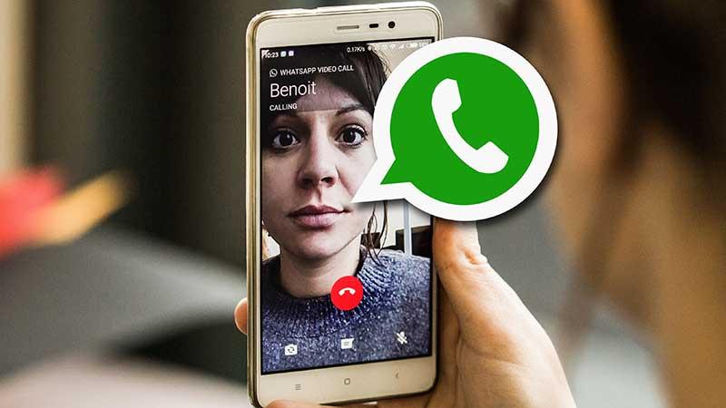 آموزش برقراری تماس تصویری در WhatsApp