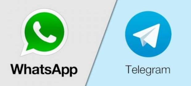 خط و نشان کشیدن تلگرام برای واتس اپ