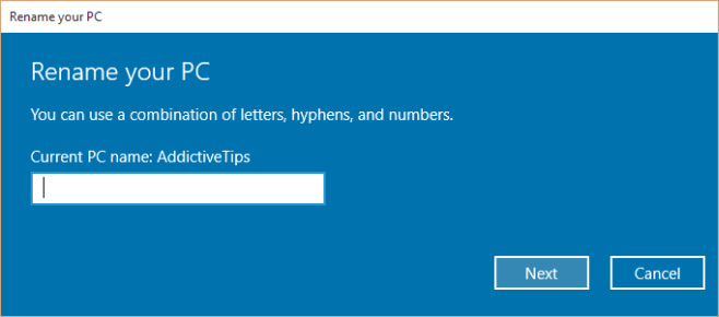 چگونه نام کامپیوتر را در ویندوز ۱۰ تغییر دهیم