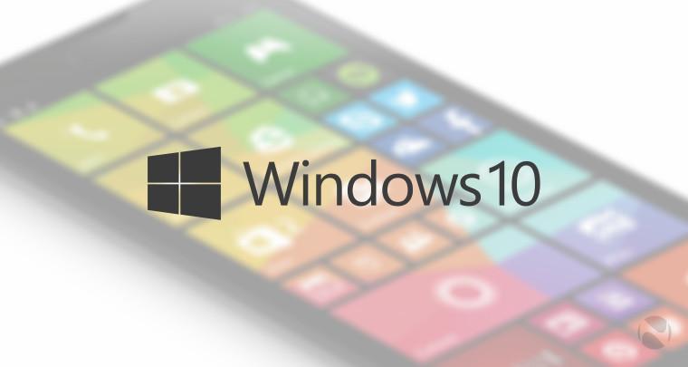 تصاویری از قابلیت های ویندوز ۱۰ برروی تلفن های همراه به بیرون درز کرد