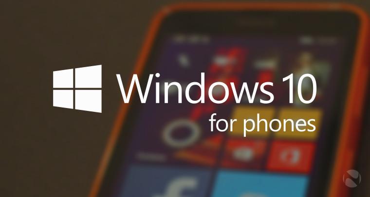 تصاویر بیشتر از ویندوز ۱۰ بر روی گوشی های هوشمند