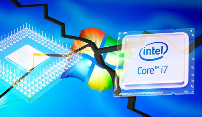 عدم پشتیبانی ویندوز ۷ از نسل جدید پردازنده ها