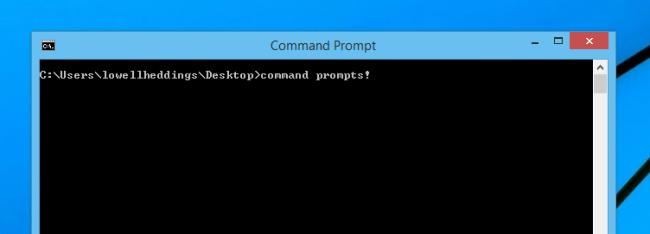 شخصی سازی محیط Command Prompt ویندوز