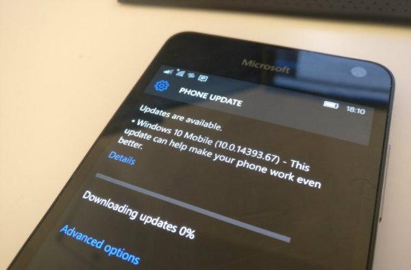 مایکروسافت از آغاز بروز رسانی ویندوز ۱۰ موبایل خبر داد