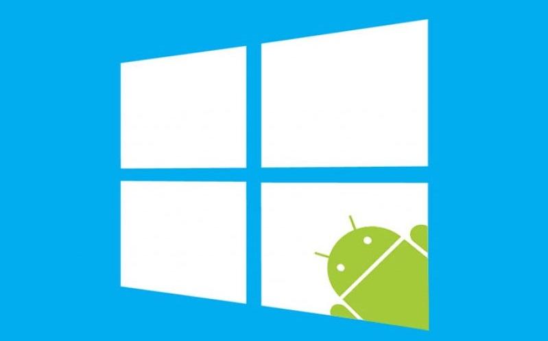 پشتیبانی Windows 10 از اپلیکیشن های اندروید [شایعه]