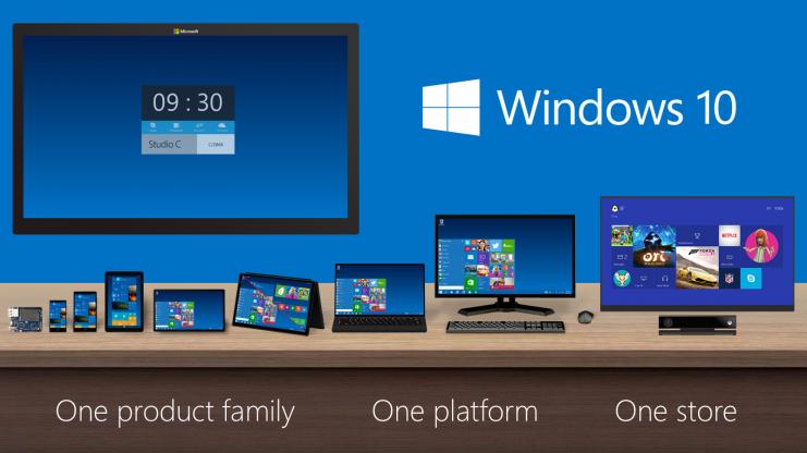 مایکروسافت: ویندوز 10 برای نیمه دوم سال 2015 در راه است