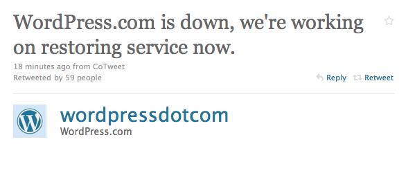 wordpressdown