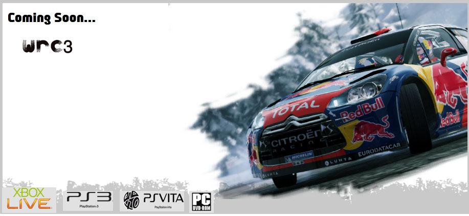 بازي WRC3 در 12 اکتبر ریزیل می شود
