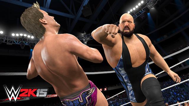عرضه WWE 2K15 برای پی سی تایید شد
