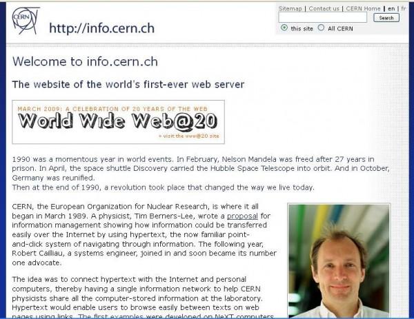 اولین وب سایت