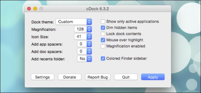 چگونگی ساختن تم های سفارشی DOCK  در OS X