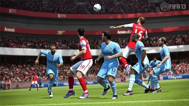 FIFA 13 قهرمان نمودار بازی های UK مانده است