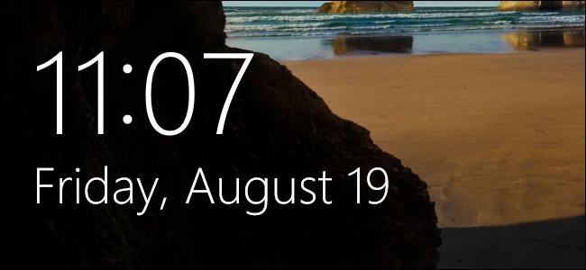 تغییر زمان لاک اسکرین