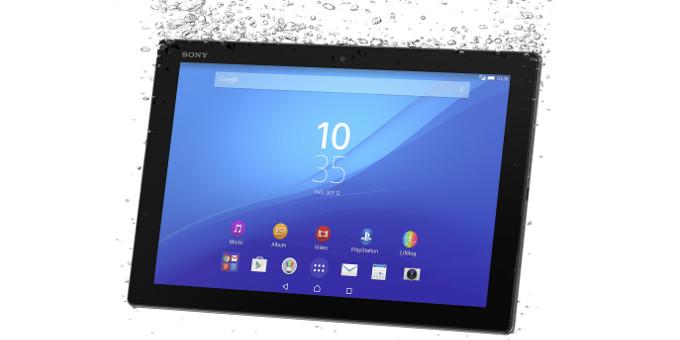 باریک ترین تبلت جهان Xperia Z4 tablet رسما توسط سونی معرفی شد