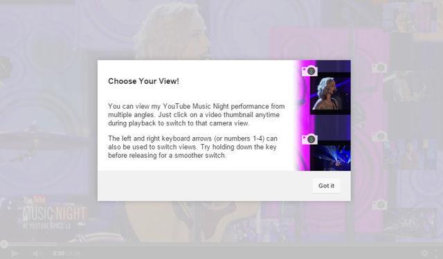 یوتیوب بتا به شما اجازه می دهد که از زوایای مختلق ویدئو را مشاهده کنید