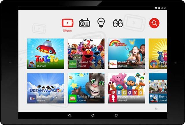 یوتیوب از پلات فرم اندرویدی خود برای کودکان رونمایی می کند