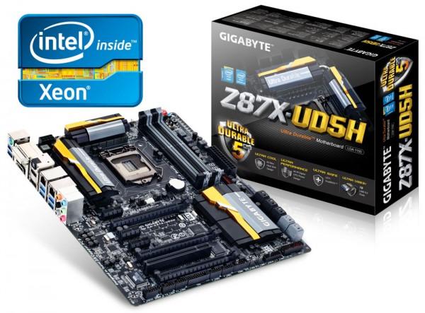 پشتیبانی تمامی سری 8های گیگابایت از Xeon