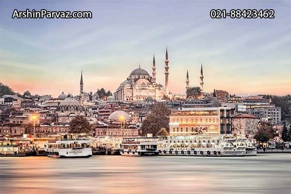 پاییز،بهترین زمان سفر به استانبول