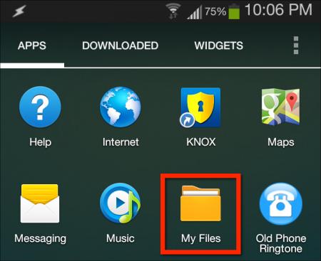محل ذخیره فایل های دانلود شده در اندروید