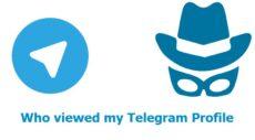 چه کسی عکس پروفایل تلگرام من را مشاهده کرده است؟