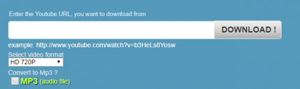 دانلود فیلم های یوتیوب از طریق وب سایتDownvids.net