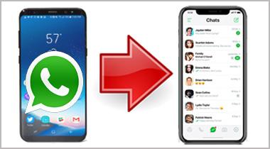 آموزش انتقال پیام های واتساپ از گوشی اندروید به آیفون
