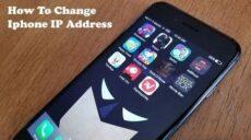 نحوه تغییر آدرس IP در گوشی آیفون