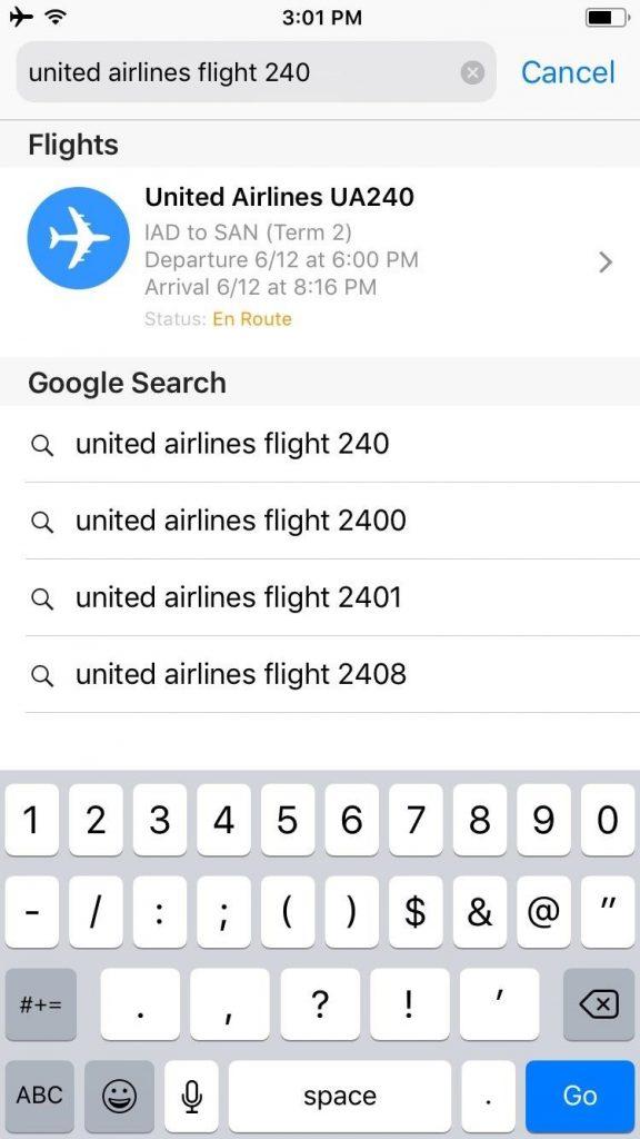 ردیابی پروازها از طریق سافاری