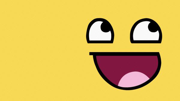 عکس تصویر زمینه خندان و صورتک