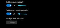 تنظیمات ساعت و تاریخ