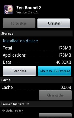 انتقال نرم افزار حجیم به کارت حافظه جانبی از طریق منوی اپلیکیشن ها در تنظیمات اندروید