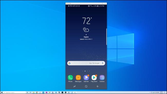 نمایش گوشی در لپ تاپ های ویندوزی چطور امکان پذیر است