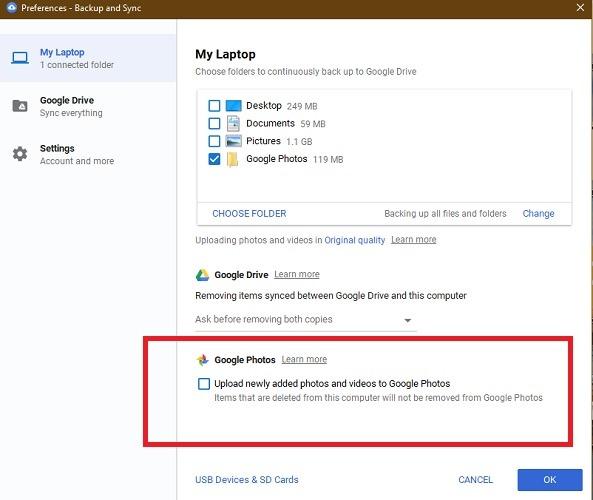 راهی برای همگام سازی خودکار عکس های Google با دسک تاپ شما وجود دارد