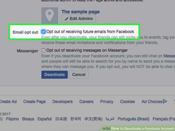 امکانات فیس بوک بعد از حذف اکانت