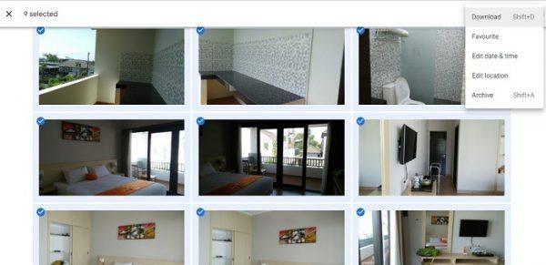 دانلود کردن عکس ازGoogle Photos