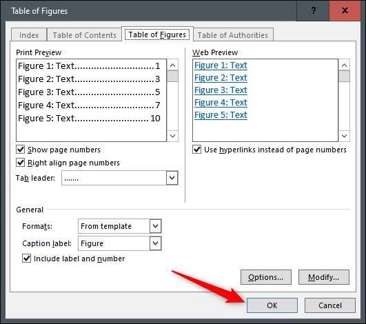 راهنمای بروزرسانی و ایجاد جدول ارقام اتوماتیک در ورد