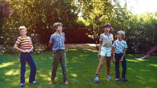 کودکی پر شور ایلان ماست در کنار برادر و پسر خاله هایش که آن ها نیز در کارآفرینی نمونه اند