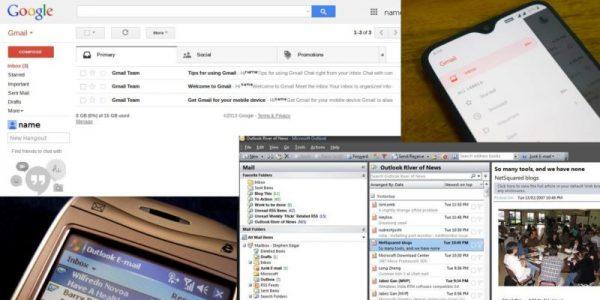 مقایسه بین جیمیل و Outlook از نظر فنی و تکنیکی و کاربری