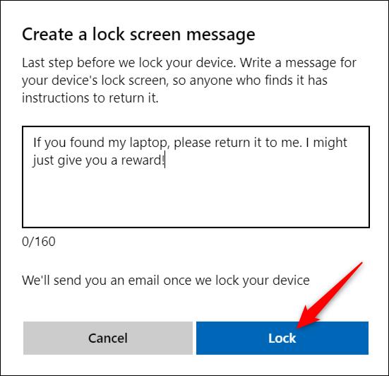 قفل کردن ویندوز از راه دور