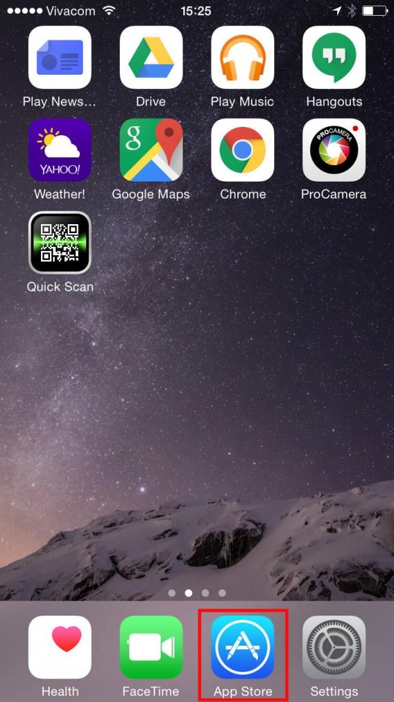 چگونه کدهای QR را با iOS اسکن کنیم؟
