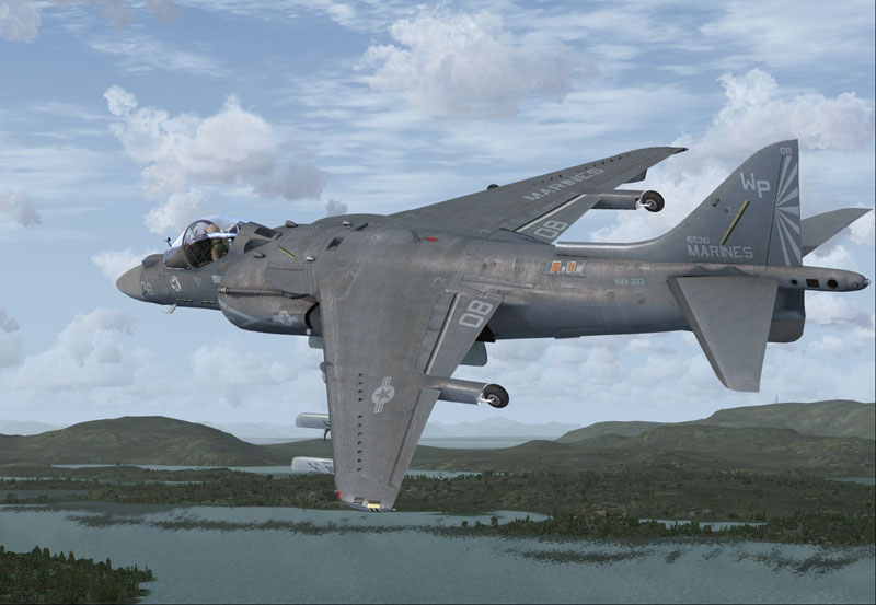 Boeing AV-8B Harrier II