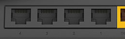 The number of LAN ports