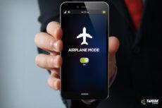 علت قرار دادن گوشی در وضعیت پرواز در هواپیما چیست؟