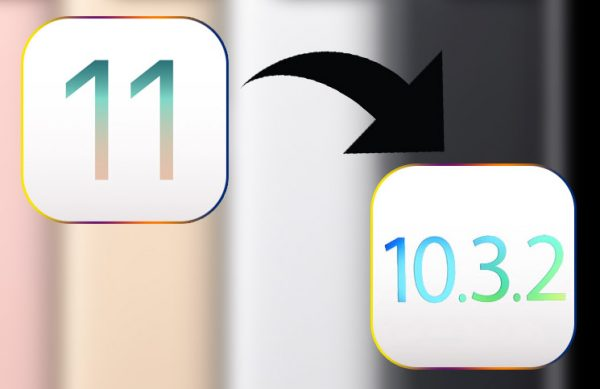 چگونه بعد از بروز رسانی iOS 11 به iOS 10.3.2 برگردیم؟